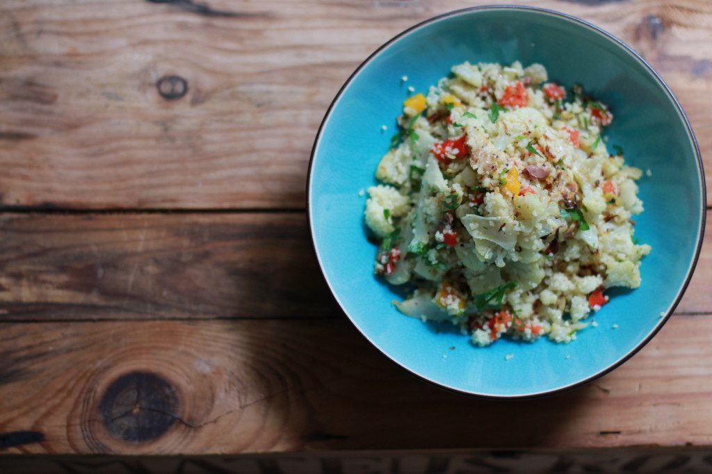 cauliflower and couscous www.girlontherange.com