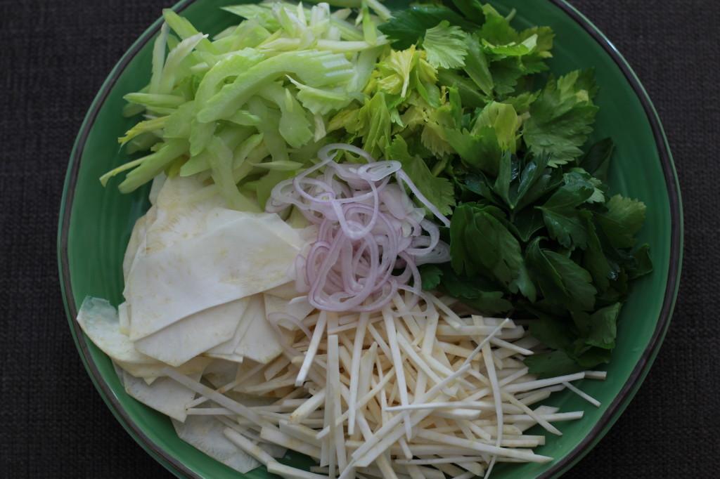 celery root salad www.girlontherange.com