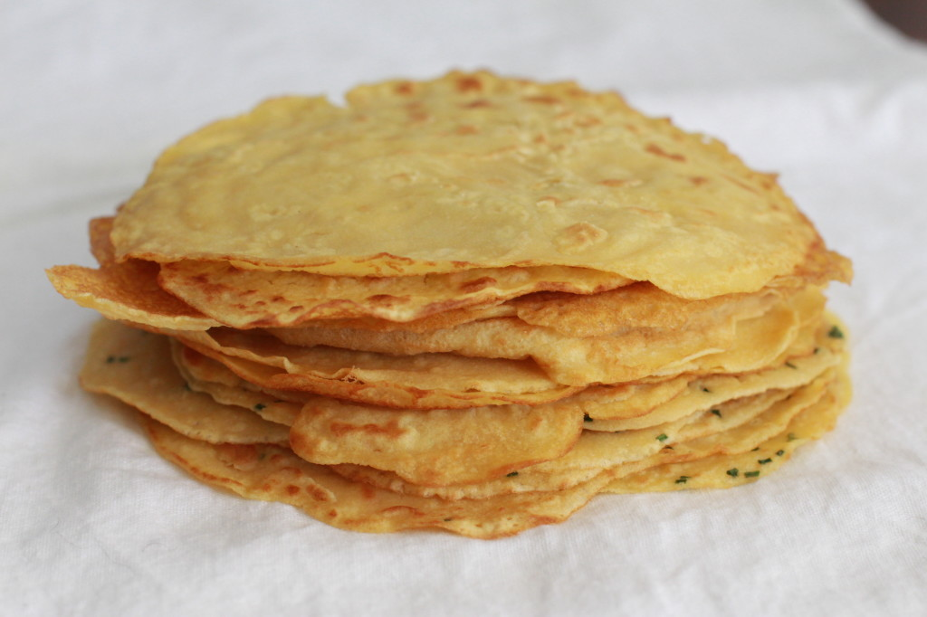 chickpea crepes - socca www.girlontherange.com