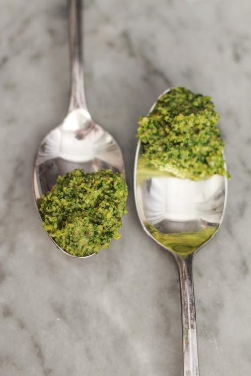 broccoli pesto www.girlontherange.com