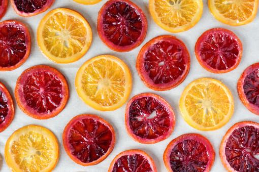 candied oranges www.girlontherange.com