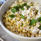 grilled corn and feta salad www.girlontherange.com