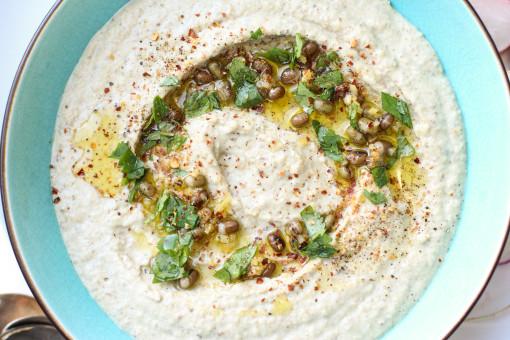 mung bean hummus www.girlontherange.com
