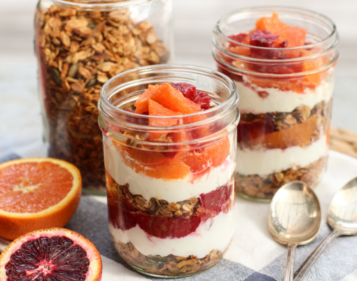granola and citrus parfait www.girlontherange.com