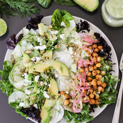 green goddess power salad