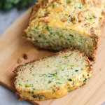 savory green onion and cheddar zucchini bread
