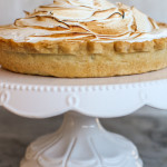 classic pumpkin pie with mile-high meringue