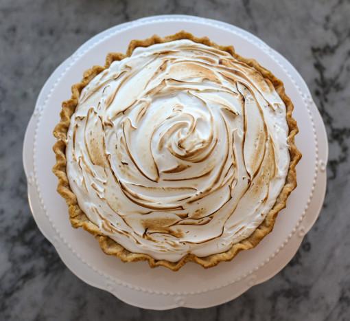 pumpkin pie top shot www.girlontherange.com