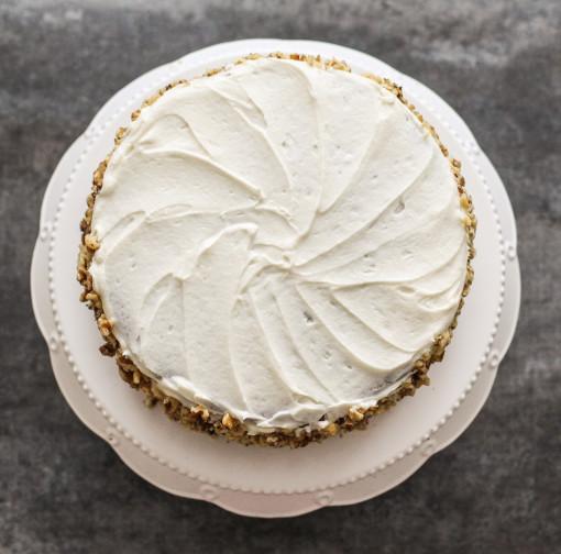spice cake top www.girlontherange.com