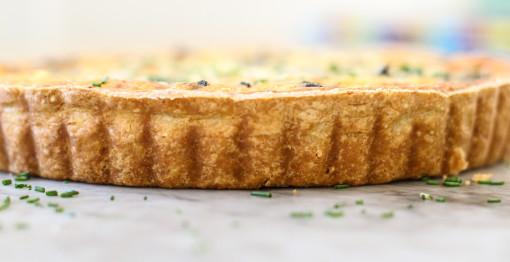 mushroom tart crust www.girlontherange.com