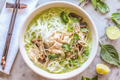 thai chicken noodle three www.girlontherange.com