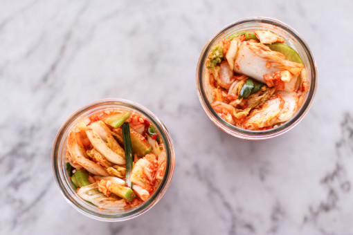 kimchi two jars www.girlontherange.com