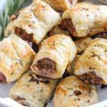 rosemary sausage rolls