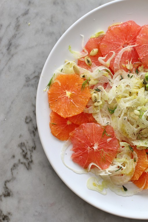 citrus fennel salad 1 www.girlontherange.com