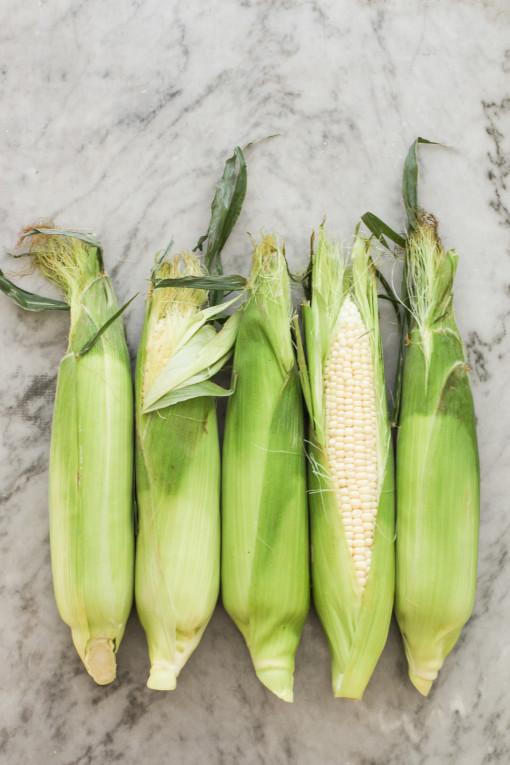 corn fritters corn cobs www.girlontherange.com