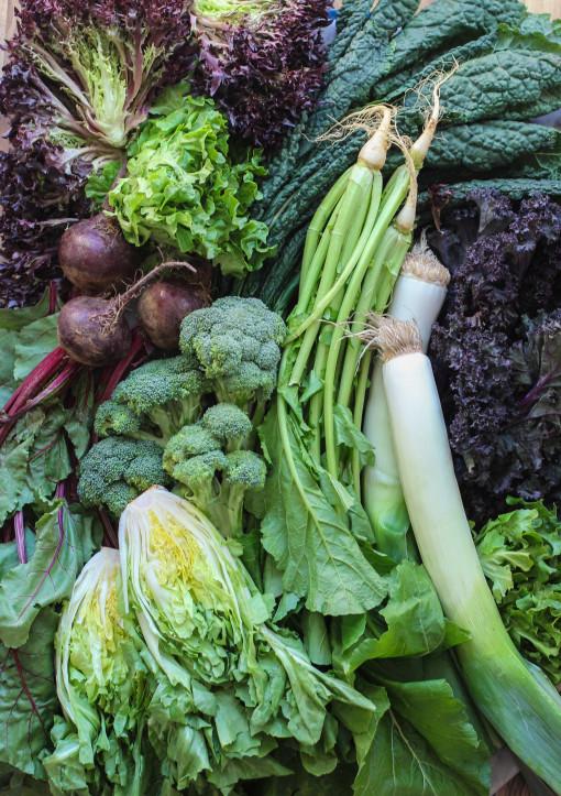 green veggies www.girlontherange.com