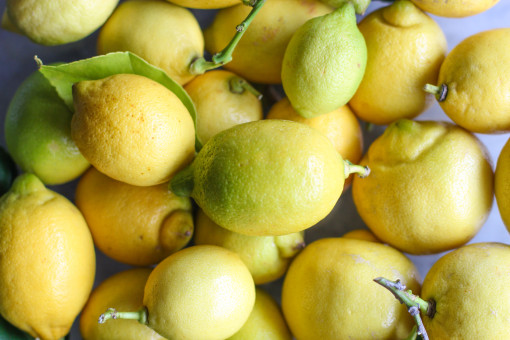 lemons close up www.girlontherange.com