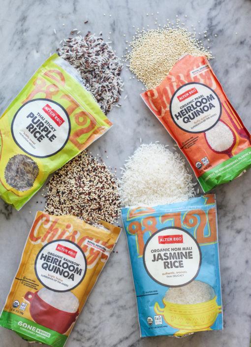rice an quinoa