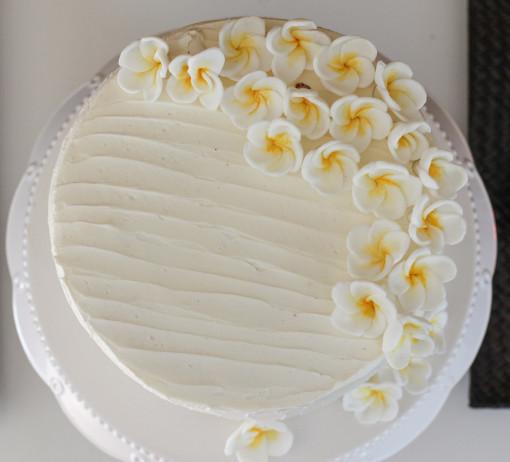 rainbow cake top www.girlontherange.com