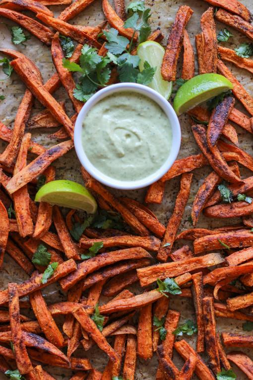 sweet potato fries more tray www.girlontherange.com