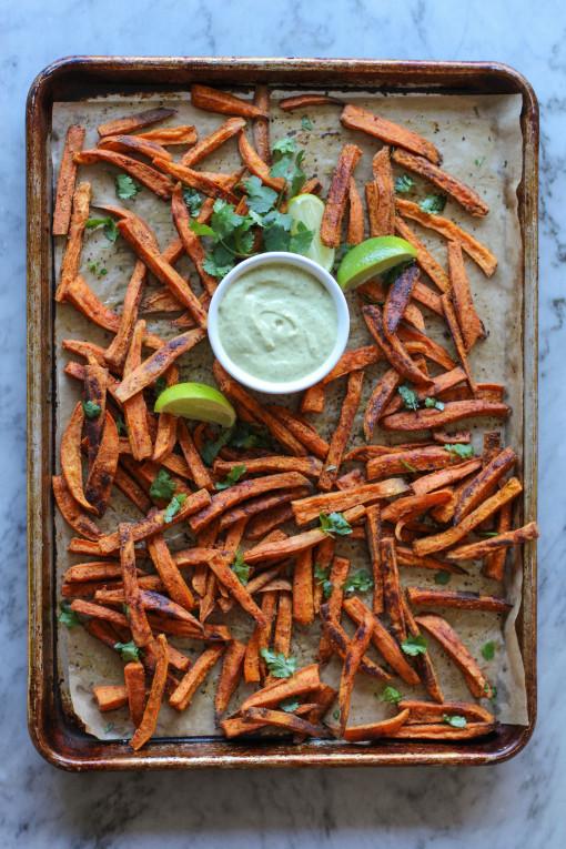 sweet potato fries tray www.girlontherange.com