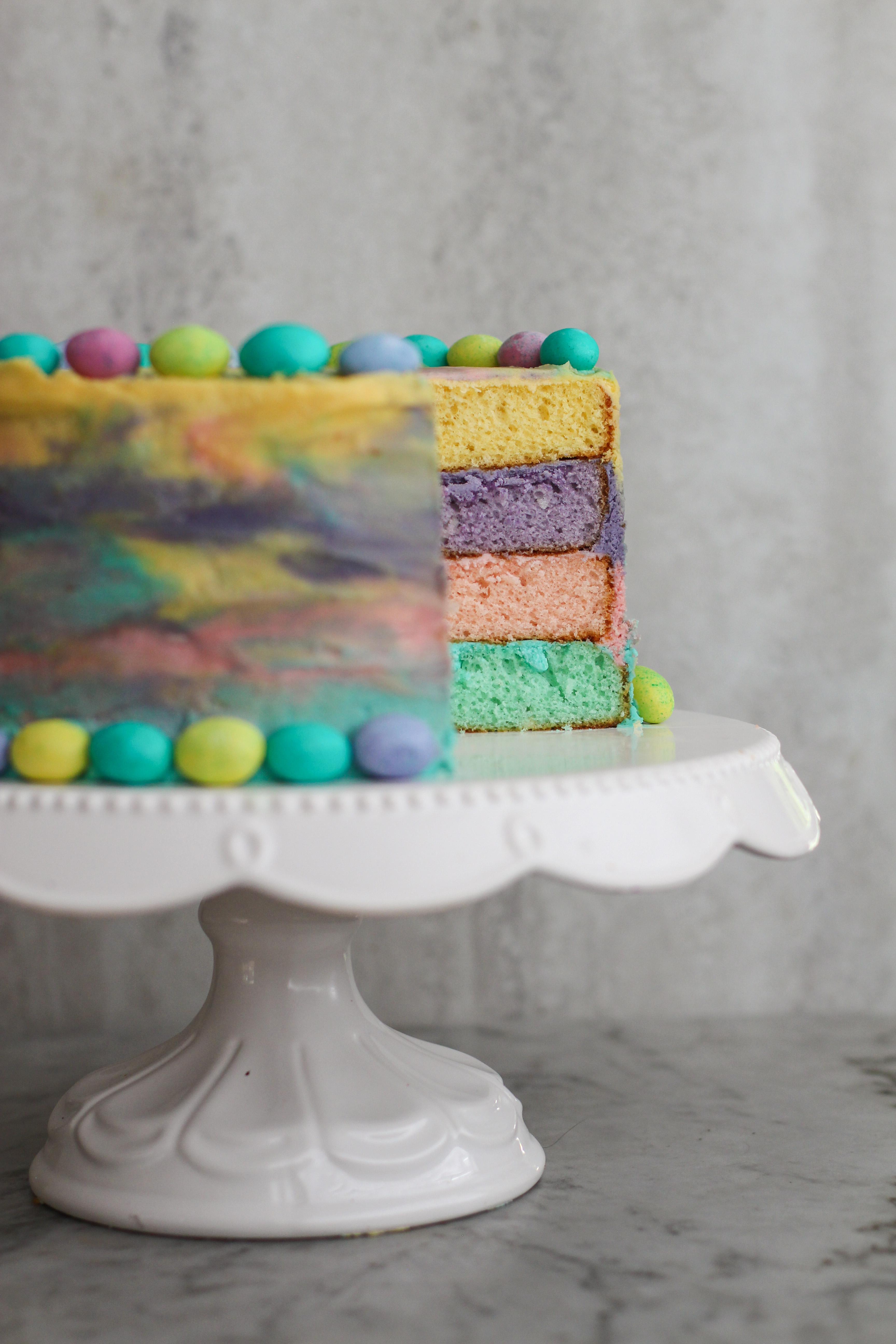 Two Layer Circle Cake