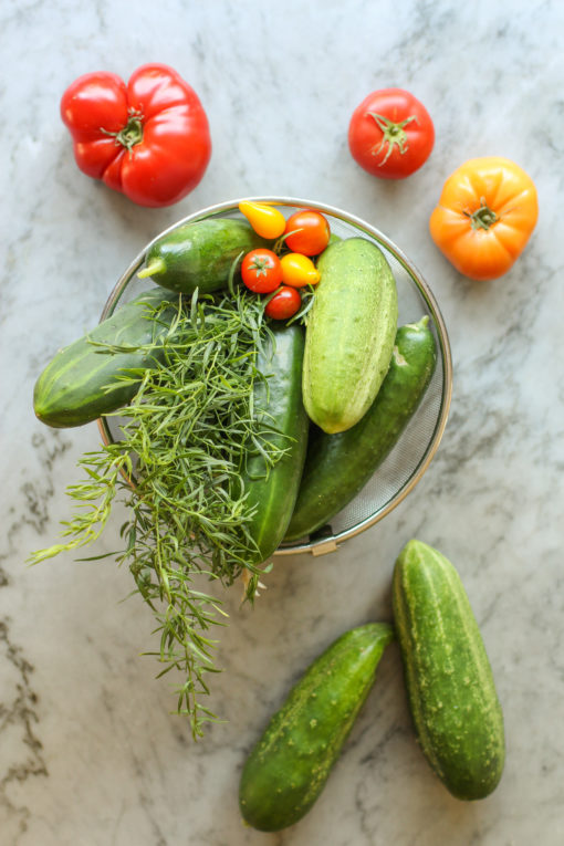 tomato gazpacho ingredients
