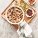 roasted mushroom and barley stuffing