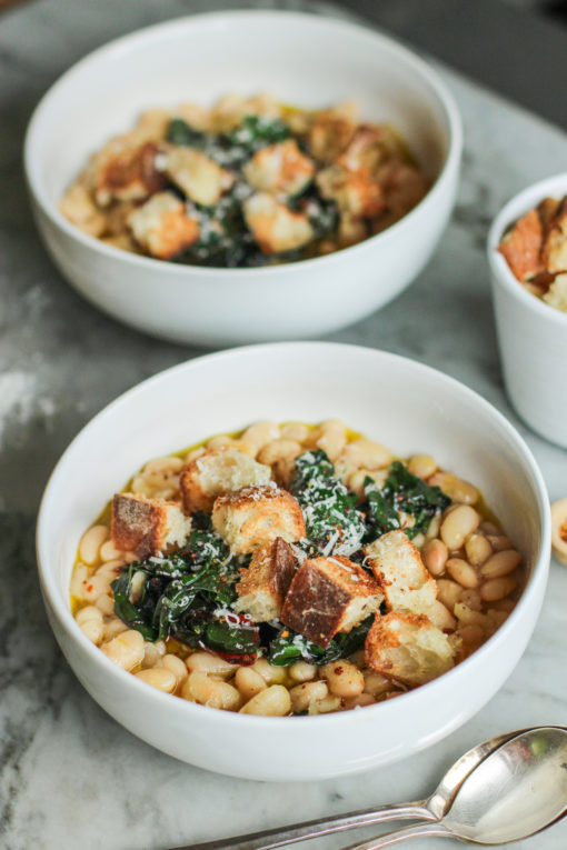 white bean stew with rosemary and thyme