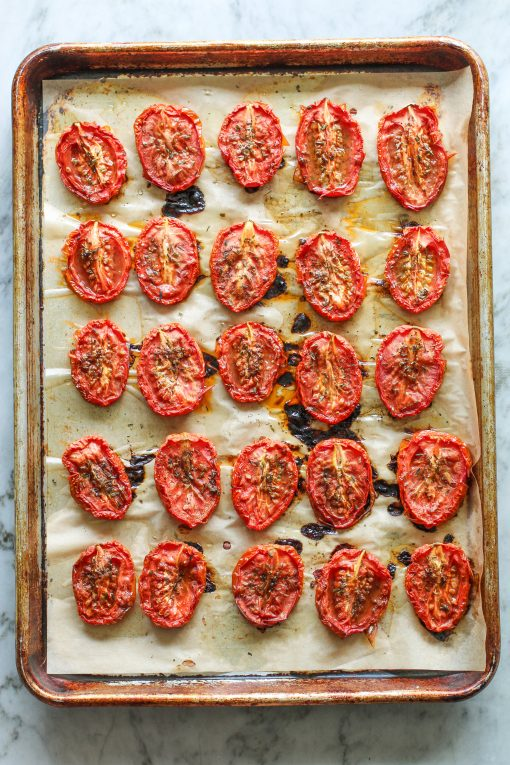 baked tomatoes - quick and easy homemade tomato sauce