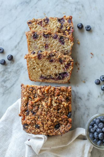 blueberry streusel quick bread