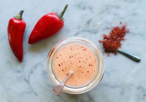 roasted red pepper tahini sauce