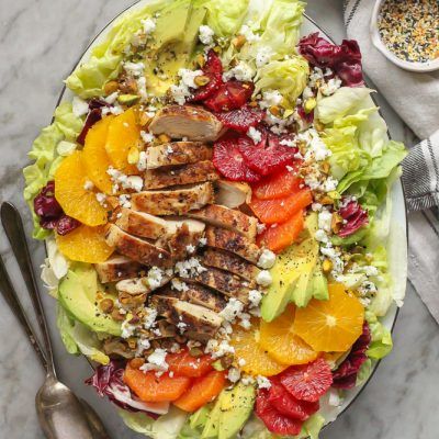 grilled chicken and citrus salad